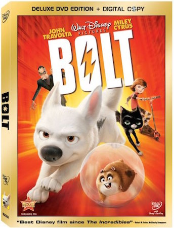Bolt DVD cover