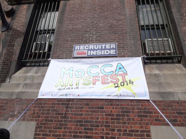 MoCCA Fest 2014 banner