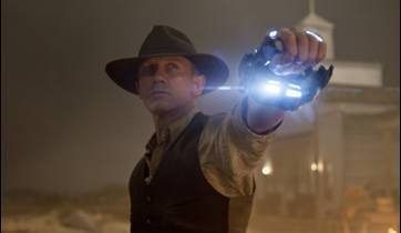 Cowboys & Aliens starring Daniel Craig