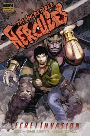 Incredible Hercules: Secret Invasion cover