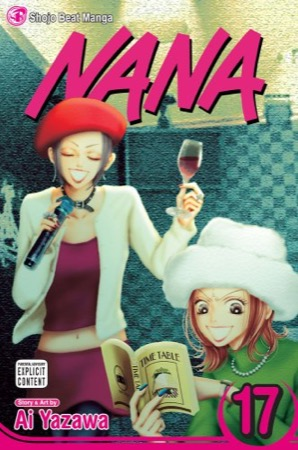 Nana volume 17 cover