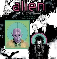 Resident Alien: The Suicide Blonde #0 cover