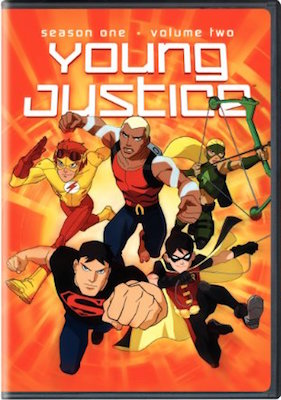 Young Justice Season 1 Volume 2 cover