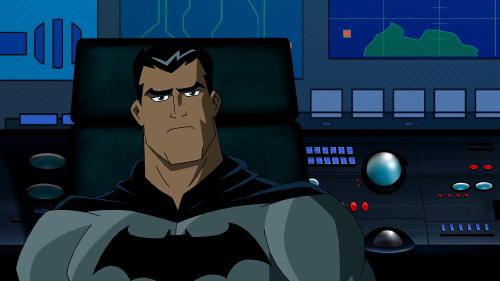 Bruce Wayne in the Batcave