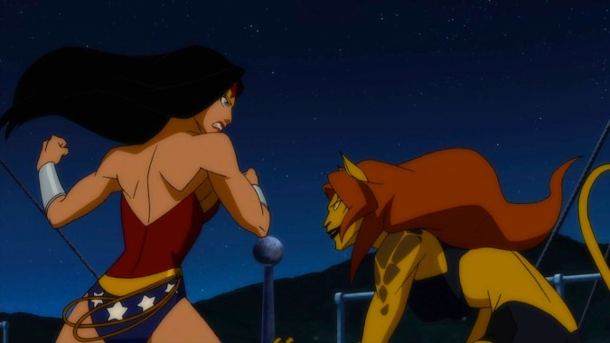 Justice League: Doom - Wonder Woman and Cheetah