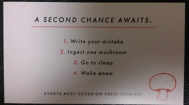 Seconds promo card