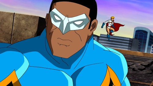 Black Lightning and Power Girl