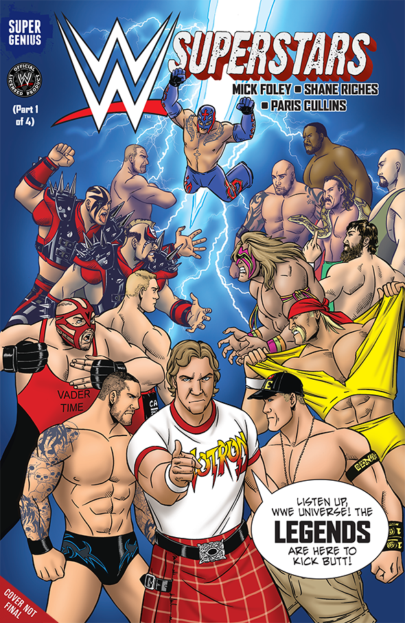 WWE Superstars #9