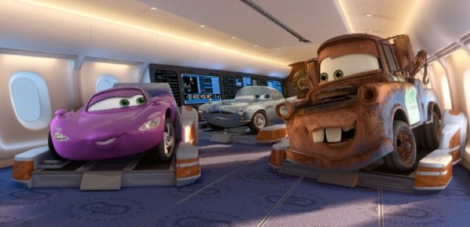 Mater and his spy friends