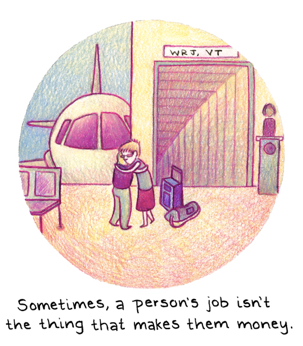 Comic by Melanie Gillman