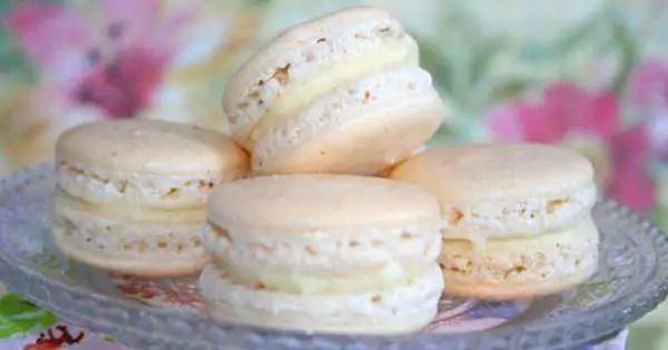 Macarons de Coco Simples