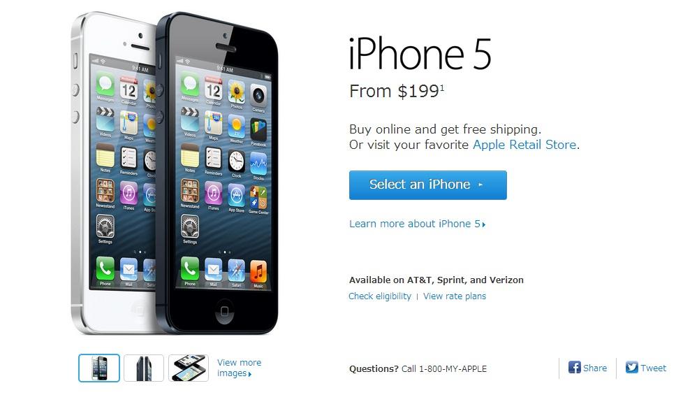 SIMフリーiPhone5 -検討2-