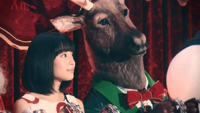 広瀬すずが出演するコークンシティのクリスマスCM