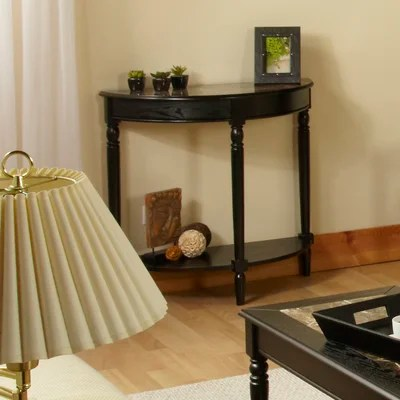 Image of Convenience Concepts French Country Entryway Table with Faux Marble Top (CVC1042)
