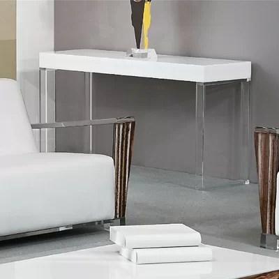 Image of Shahrooz Contempo Acrylic Sofa Table (SHZ1056)