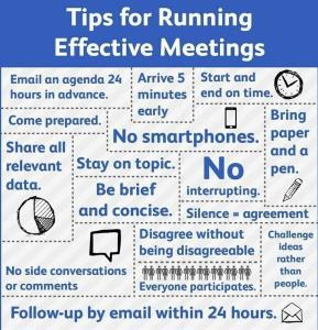 Tips for meetings