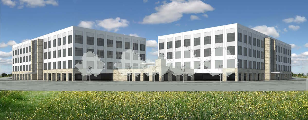 The headquarters of YETI Coolers LLC, a local business that manufactures coolers and beverage cups, is slated to occupy the entire Lantana Ridge development upon completion in early-2017.