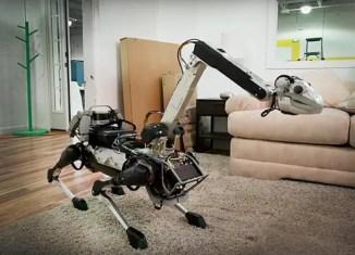 robot perro spotmini de boston dynamics