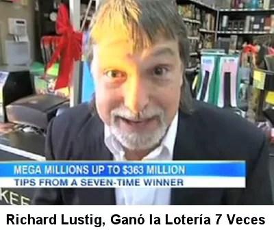 ¿Como Me Gano la Loteria?: El Increíble Caso de Quien Ganó la Lotería 7 Veces y Más Pruebas de que Existe una Fórmula