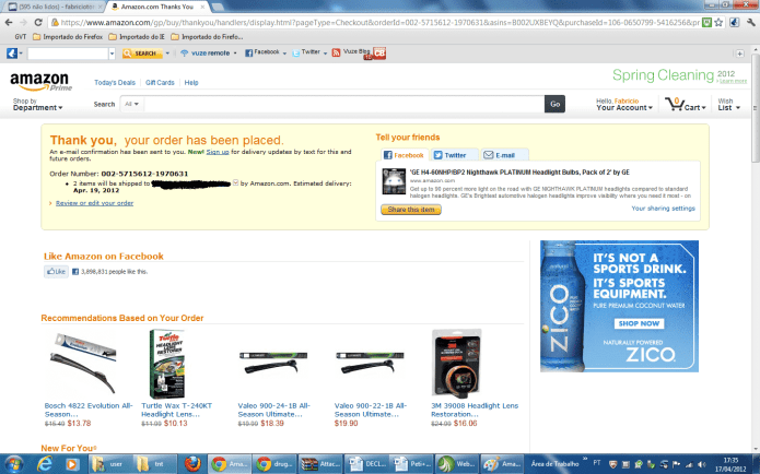 Amazon 9 1024x640 Tutorial como comprar no Amazon