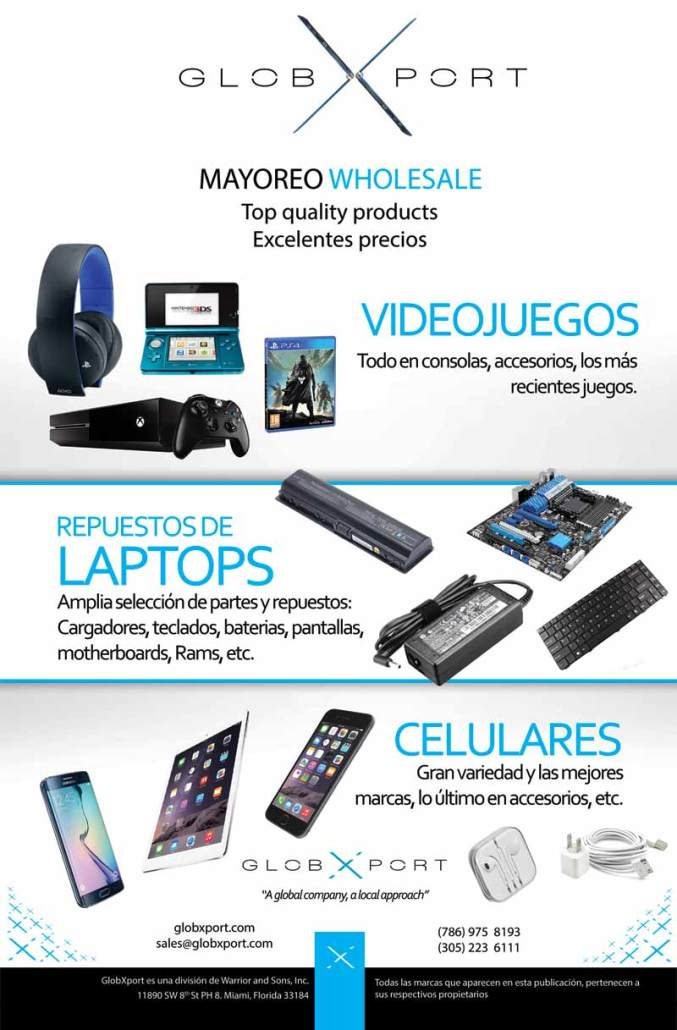 Distribuidor de celulares, videojuegos, accesorios, tablets, memoria,