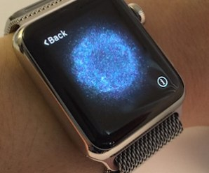 Paring the Apple Watch with an iPhone