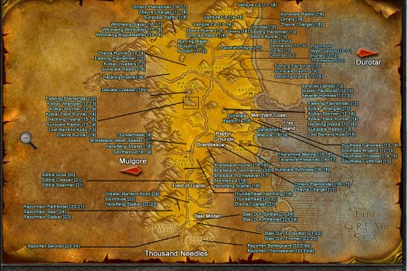 Map to wailing caverns wailing caverns map by relentless666 barrens publicscrutiny Image collections