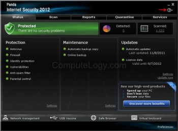 Get Free Panda Internet Security 2012 Genuine Key For Six Months