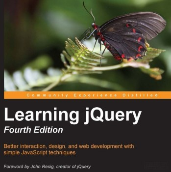 "Free eBook 24hrs ""Learning jQuery – Fourth Edition"" PDF ePub Mobi Kindle Formats"