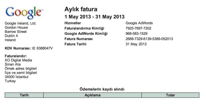 ornek-google-faturasi
