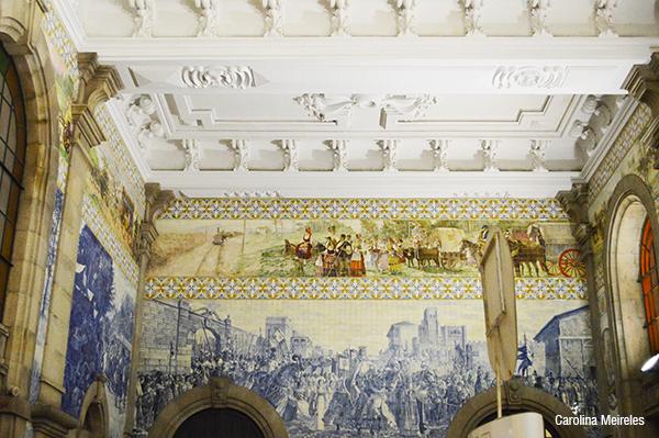 A Estação Ferroviária é de 1896. Já o painel de azulejos feito por Jorge Colaço é de 1906.