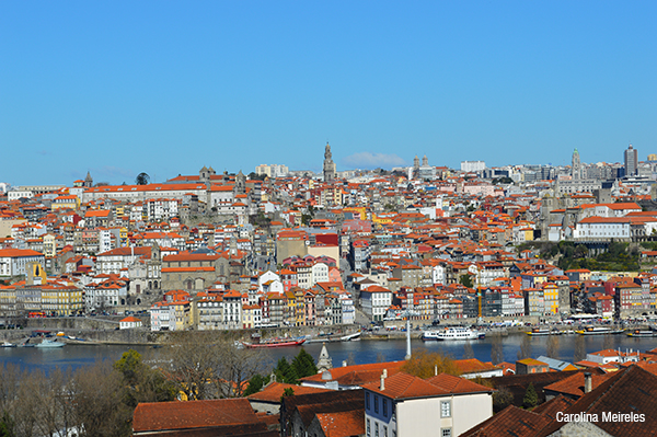 Ribeira vista pela Vila Nova de Gaia.