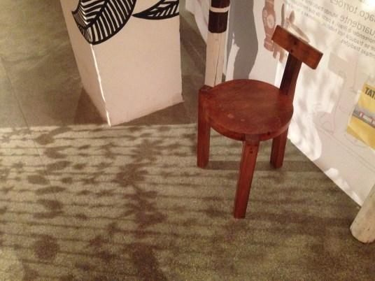 Cadeira Girafa, projetada pela própria Lina.