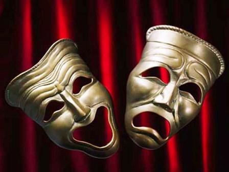 O símbolo do teatro: as máscaras.