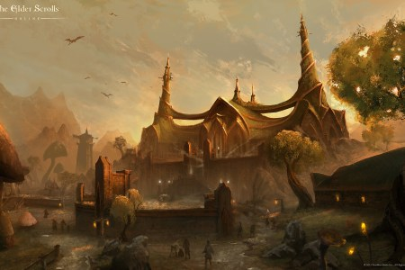 the elder scrolls online wallpaper art 06