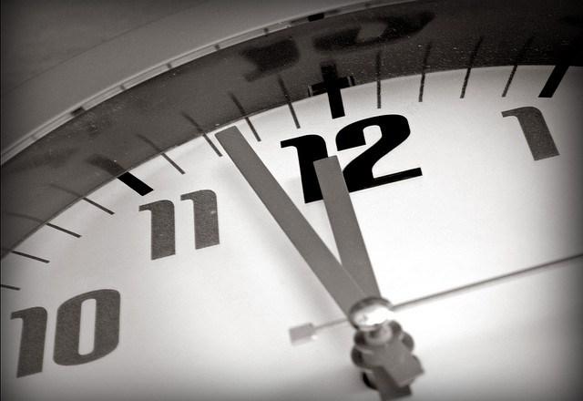 clock-almost-midnight-flickr-krissy-venosdale