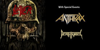 Win Tickets to Slayer + Anthrax at Abbotsford Centre + 2 Official Concert Posters