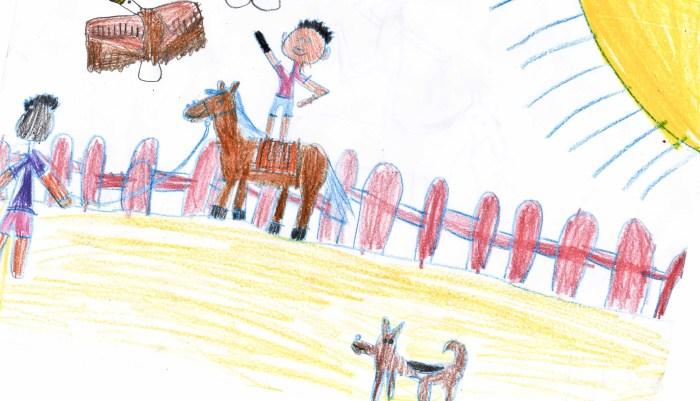 Alejandro Gutiérrez - Cetrero cazando a caballo