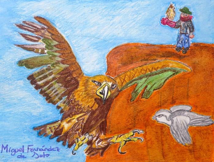 Miguel F. Soto - La caza de la paloma