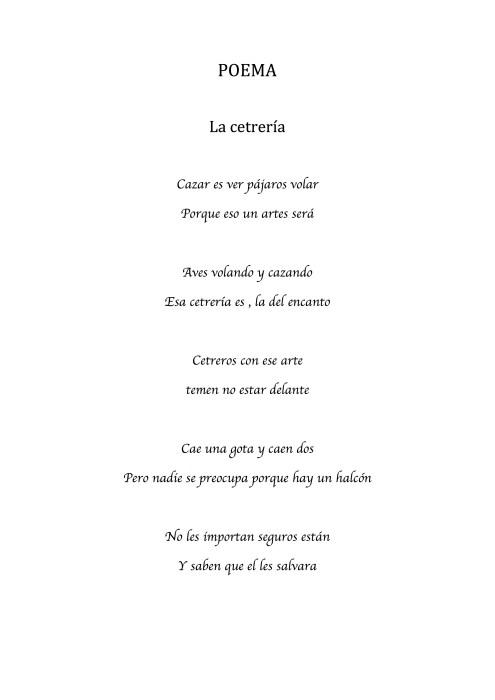 Carmen Garrido Moreno - Poema de la Cetrería