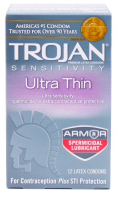 Trojan-Ultra-Thin-Spermicidal-Lubricated