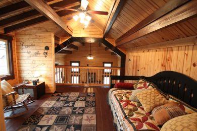 Sugarloaf log cabin loft