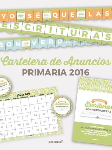 cartelera de la Primaria 2016 - ConexionSUD