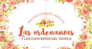 maestras visitantes junio 2016 - Conexion SUD ordenanzas convenios templo
