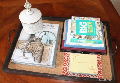 Spring Coffee Table Tray by ConfettiStyle (8)
