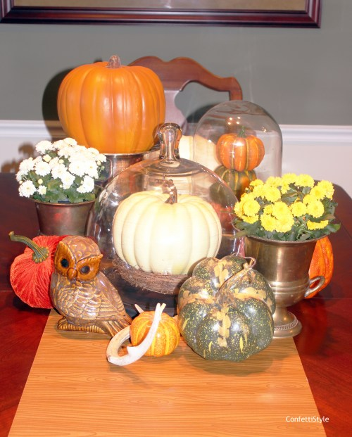 Fall 2014 Centerpiece by ConfettiStyle1