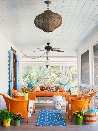 Outdoor Living via BHG