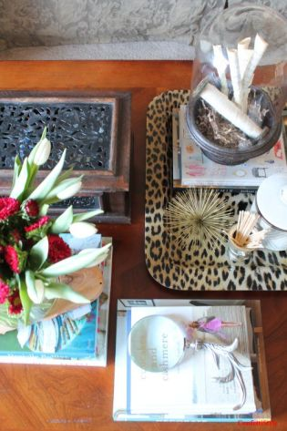 Coffee Table Decor by ConfettiStyle