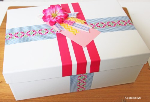Washi Tape Gift Wrap by ConfettiStyle5