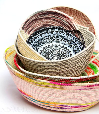 Coil Baskets by Alisa Burke